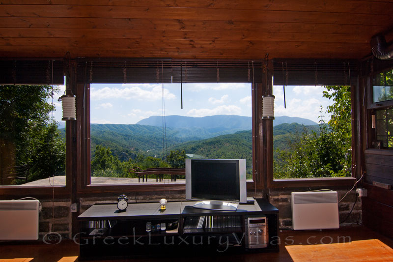 Guesthouse of mountain house with view over Zagori