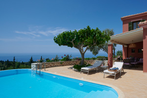 Villa Camellia - A luxurious 2-bedroom villa with pool on Lefkas