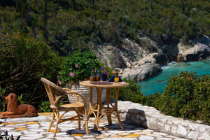 Romantic and Spacious Waterfront Villa on Paxos, Greece