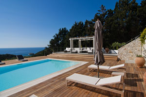 Contemporary Luxury Villa with Pool on Paxos