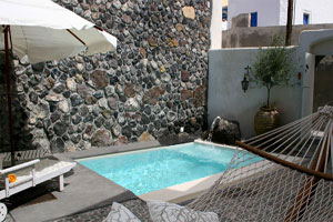Romantic Villa for 2 with pool on Santorini, Greece