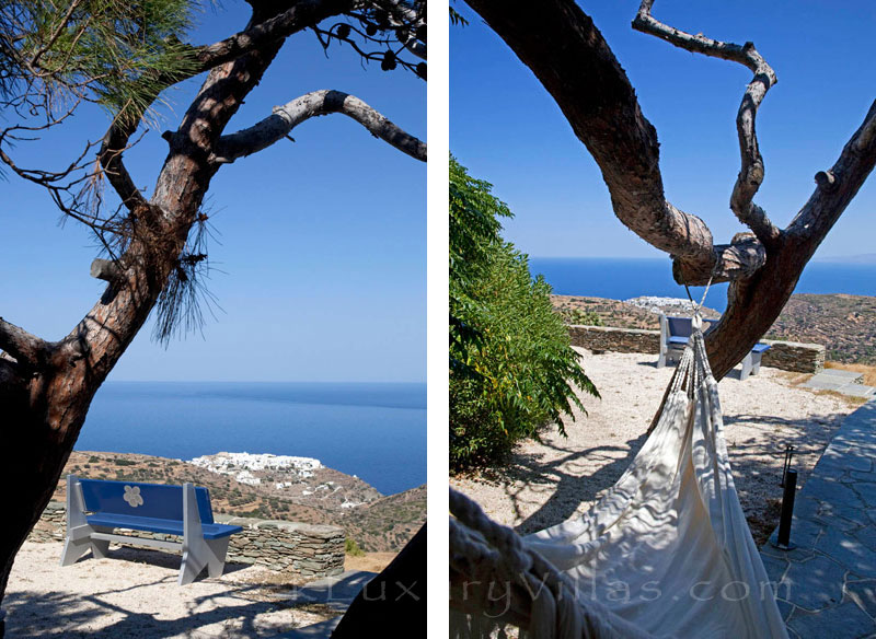 Seaview from an an exquisite traditional villa in Sifnos